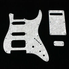Tom anderson Classic Replacement 3ply whitepearl pickguard S/S/H + backplate