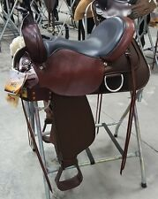 "High Horse by Circle Y Lockhart Cordura Trail Saddle #6910. 15"" Wide Tree. NEW!"