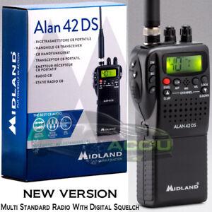 Midland Alan 42 DS Multi Band 40 Channel Handheld Portable CB Radio Transceiver