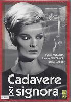 Dvd **CADAVERE PER SIGNORA** con Sylva Koscina nuovo sigillato 1964