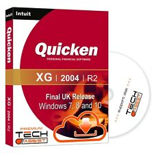 Quicken XG 2004 UK R2 Software - Windows 7 8 and 10 With Full Technical Support