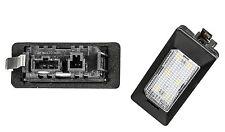 2x LED SMD Kennzeichenbeleuchtung AUDI A1 8X1 8XF TÜV FREI / ADPN