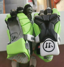 Official NY Lizards Warrior Burn Pro Large Lacrosse Gloves Pair