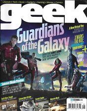 Geek magazine Guardians of the Galaxy X-Box Video games Movies Virtual reality