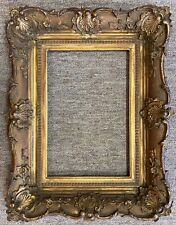 Antique Hand Carved Wood Frame 8�x12� Artists Paintings Art Rare Shabby Chic