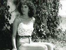Photo Argentique Cinéma 18x24cm (1983) ISABELLE ADJANI - L'été Meurtrier. NEUVE