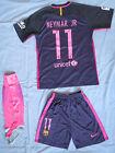 NEW 2016-17 Barcelona FC NEYMAR #11 soccer jersey,shorts,socks ADULT M USseller