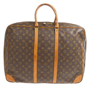 LOUIS VUITTON SIRIUS 50 TRAVEL HAND BAG  PURSE MONOGRAM M41406 upi 60560