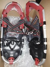 "Tubbs Discovery 21 Metal Claw Red and Black 21"" Snowshoes-Excellent Condition"