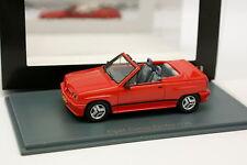 Neo 1/43 - Opel Corsa Irmscher Ragno I120 Rosso 1985