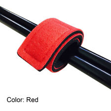 Fishing Rod Tie Strap Belt Tackle Elastic Wrap Band Pole Holder Accessories Red