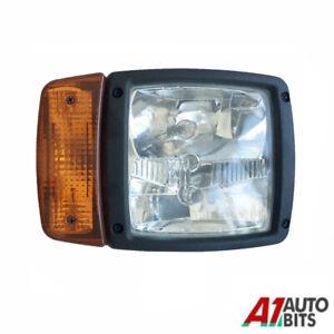 Rh For Jcb Telehandler Loader Loadall Headlight Head Light Headlamp Indicator