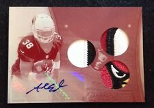 2013 TOPPS TRIPLE THREADS ANDRE ELLINGTON White Whale RC SICK Patch! 1/1 CARDS!