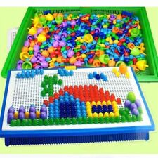 3D Puzzle 300 Pieces Set Mushroom Puzzles Box Educational Toys Children Games