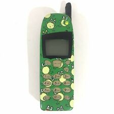 Vintage UNTESTED Nokia 5160i Cellular Cell Phone Black With Frog Cover
