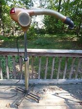 Vintage Ullman Rocket Rare Unusual Personal Adjustable Fan Heater Cooler Blower.