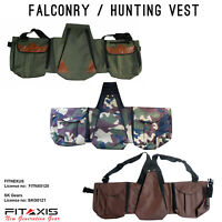 Falconry Hunting Multi Pockets Adjustable Jacket Codura-1000 Vest