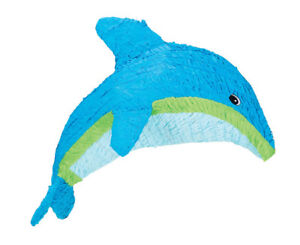 Tropical Dolphin Pinata - Ocean Themed Birthday Party Supplies