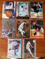 "8 Card ""Oddball"" lot ANDY PETTITTE Yankees Bowman Chrome RC + more Future HOF?"