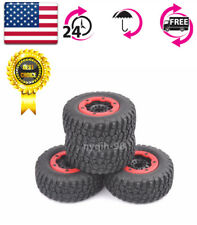 US 1:10 Tires&Bead-Lock Wheel for Short Course Truck RC 12mm Hex TRAXXAS Slash