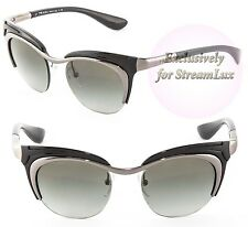 f4c5c93c89 ... aliexpress prada dixie women cat eye sunglasses pr 68os 5av 3m1 silver  black gradient 1e63e 7d12b ...