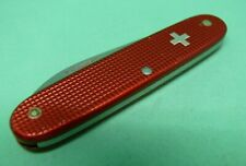 Victorinox 93mm Settler Swiss Army Knife in Red Alox old cross