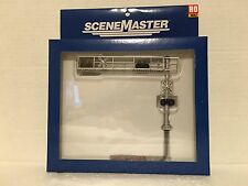Walthers SceneMaster - HO Modern Cantilever Grade Crossing Signal Two Lane NIP