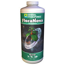 General Hydroponics FloraNova Grow 1 Quart qt 32oz - gh flora nova nutrient