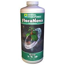 General Hydroponics FloraNova Grow 1 Quart - gh flora nova qt gal