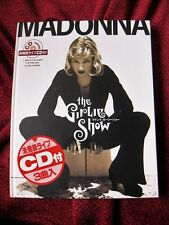 SEALED Madonna FIRST EDITION Japan Girlie Show Tour Book Erotica Sex & Promo CD
