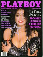 Playboy magazine-March 1989-Laurie Wood centerfold