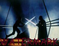 STAR WARS EMPIRE STRIKES BACK LUKE EPICALLY BATTLING DARTH VADER PUBLICITY PHOTO