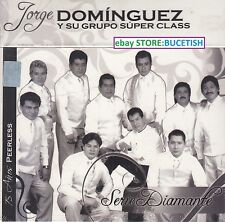 Jorge Dominguez y su Grupo Super Class Serie Diamante 75 Anos Peerless 5CD New