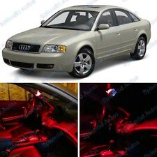 Brilliant Red Interior LED Package For Audi A6/S6 C5  1998-2004 (12 Pieces) #496