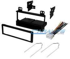 CAR STEREO RADIO KIT DASH INSTALLATION MOUNTING TRIM WITH WIRING HARNESS & TOOLS