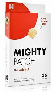 Mighty Patch Original Best Selling Hydrocolloid Acne Pimple Patch Spot 36 CT