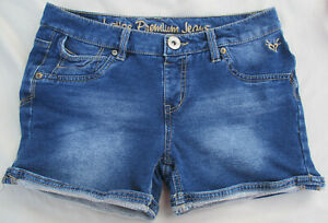 Justice Jeans Stretch Denim Shorts Size 16R