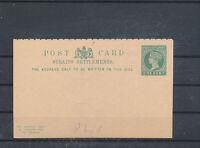 545333 / GB UK Ganzsache Strait Settlements