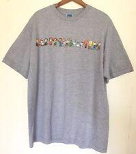 Peanuts Men's Short Sleeve Grey T Shirt - XL