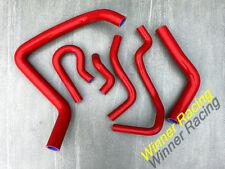 Fit Honda Civic USDM Si / CAN SiR B16A2 EM1 1999 2000 Silicone Radiator Hose Red