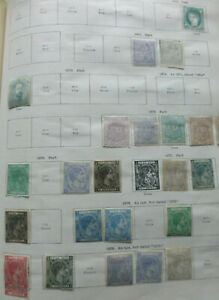 Caribbean coll. earlies to 1935 on Ideal album pages Mint & U