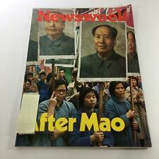 Newsweek Magazine: September 20 1976 - After Mao