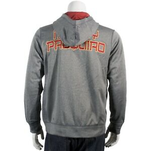 NIKE MANNY PACQUIAO XXL THERMA FIT ZIP UP MEN'S HOODIE JACKET 2XL RARE!