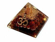 Orgone Amethyst Crystal GEMSTONE Large Orgonite Pyramid Reiki Energy EMF Charged