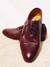 Vintage PLAYBOY 70's/80's Men's Dress Shoes Size 10 M Leather Upper Burgundy
