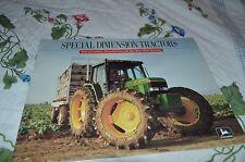 John Deere Hi Crop Orchard Vineyard Tractor For 1992 Dealers Brochure DCPA5