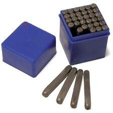 36 Pc Number & Letter Stamp Punch Set Piece Kit Hilka 62990036 & Case 5mm Size