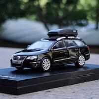 1/64 Scale VW Volkswagen Passat R36 Wagon Black Diecast Car Model Toy Gift