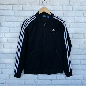 Adidas Women's Full Zip Track Top Jacket - Size 18 Large L - Tracksuit 3 Stripes