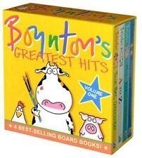 Boynton's Greatest Hits: Volume 1/Blue Hat, Green Hat; A to Z; Moo, Baa, ...